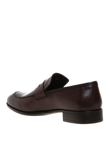 Cotton Bar Loafer Ayakkabı Kahve